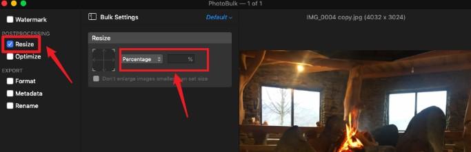 PhotoBulk 画像リサイズ