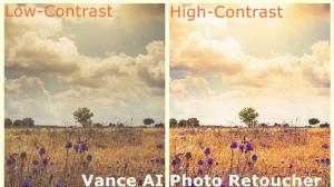 Get High Contrast Images with Vance AI Photo Retoucher