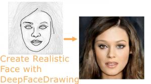 A Tutorial On How To Draw A Realistic Face With DeepFaceDrawing