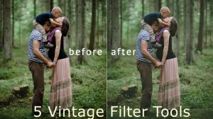 5 Selective Tools to Apply Vintage Filter 2021
