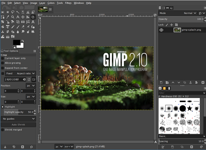 gimp-to-blur-edges