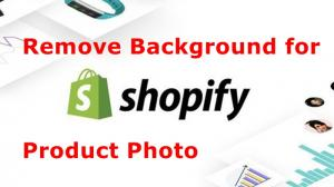 How to Remove Background of Product Photos for Shopify